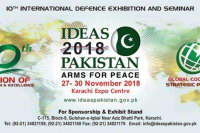 IDEAS 2018 Karachi Pankistan Exhibition